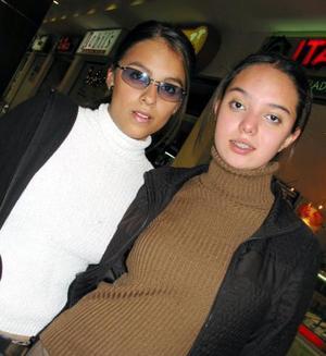 Cinthia Rodríguez y Pamela García