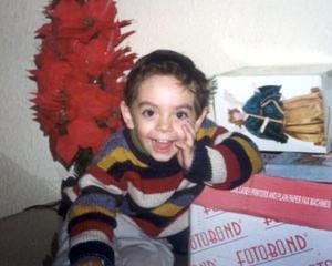 El pequeño Cristian Alejandro Rodríguez Hernández cumplirá tres años de vida