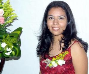 <u>01 de enero</u>  Srita.  Leticia Garay Espinoza el día de su despedida de soltera.