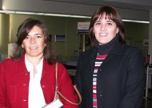 Claudia y Susana Natera retornaron a Cancún Q.R. luego de disfrutar las fiestas navideñas en La Laguna