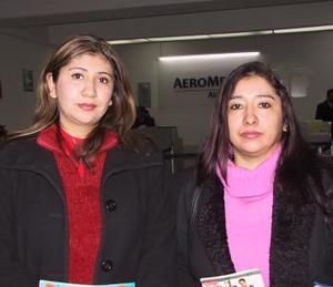 laudia y Liliana Godinez viajaron a México a recibir el Año Nuevo.