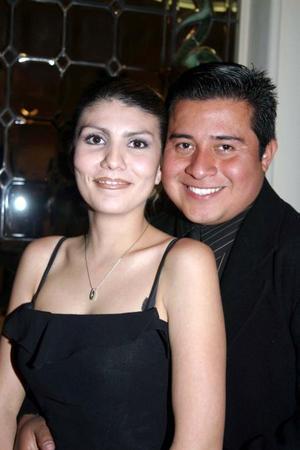 Ana Jennifer Ramírez de Pimentel y Sergio Pimentel Fernández.