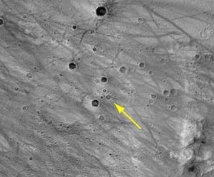 Las imágenes enviadas hasta ahora ofrecen un panorama llano con pequeñas rocas diseminadas sobre el terreno, y una vista parcial del propio vehículo explorador. Las fotografías son fantásticas, declaró por su parte John Callas, otro de los responsables científicos de la misión.