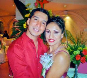 Emilio Cañedo González y María del Carmen Morales Salas contrajeron matrimonio recientemente.