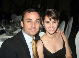 Jorge Carzó y Bárbara de Carzó.