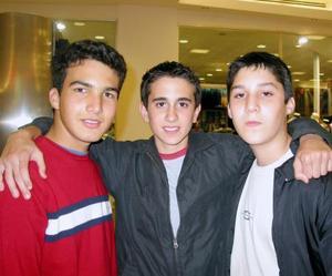 Jorge Máynez, José Andrés Madero y Rodrigo Campa.