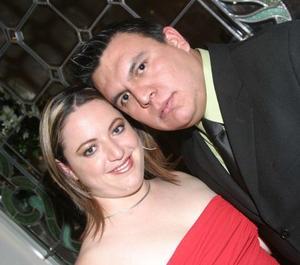 Mónica Hernández y Alfonso Vázquez.