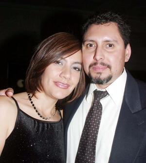 Nancy de Uribe y Fernando Uribe.