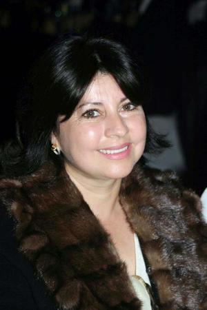 Olga Leticia Aradillas, esposa del cantante Armando Manzanero.