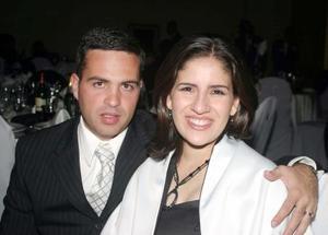 Sergio Sada y Lorena de Sada