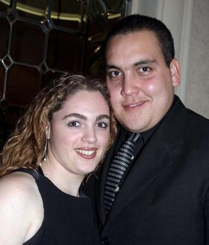 Tania Martos y Carlos Faudoa en pasado acontecimiento