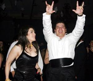 <u>04 de enero</u><p>  Ivonne de León y Héctor León Jr.