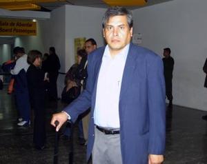 Saúl Martín del Campo viajó a Los Ángeles California por cuestiones de trabajo.