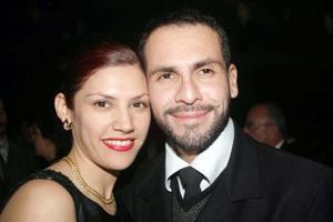 Mercedes y Ricardo Fernández.