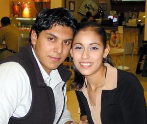 Jaime Vázquez y Laura Colmenero.