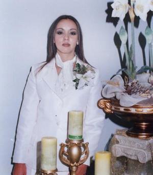 La señorita Marlen Romero Segura fue despedida de su soltería por su próximo matrimonio con el señor Aurelio Rangel Vaquera.