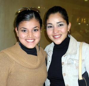 <U> 09 de diciembre </u> <p> Nancy  Salazar y Susana López.