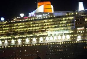 El Queen Mary 2 tendrá capacidad de cruzar el Atlántico Norte a una velocidad de 30 nudos.