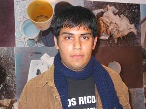 -José Alfredo Jiménez creador de la exposición 'Morir en los Desiertos'.