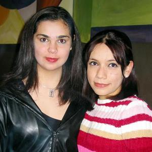 Cristy Díaz y Mayra Mesta.