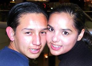 Dante Ortega y Carolina Aguirre González.