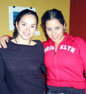 Domitila García y Federica Domínguez.