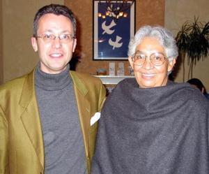 Guilles Guey y Marcela López.