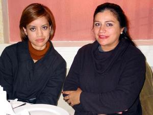 Jatziri Ávila y Elena Miranda