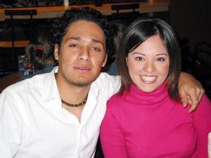Roberto Núñez y Kitty Carmona.