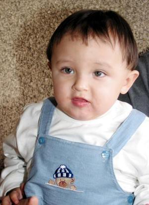 El pequeño Ricardo festejó su primer año de vida con un convivio.