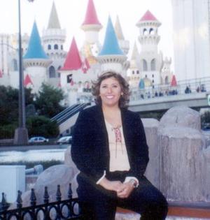 IDalia Pérez Mata captada en Las Vegas Nevada.