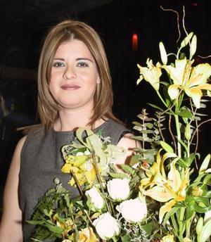 Blanca Vizcaya Hernández disfrutó de una despedida de soltera.