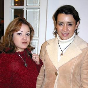 Claudia Hiriart y Olaya Romo Ramírez.
