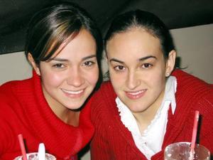 Daniela Rubio y Mariana Fernández.