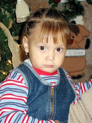 <u>13 de enero </u><p> Karen Fernanda Martínez Saucedo cumplió dos años de vida.