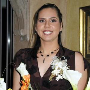 <u> 17 de enero </u> <p> Por su próximo enlace festejan a la Srita. Martha Candelas Ramírez.