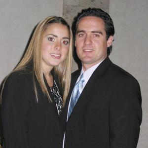 Regina Setien Valenzuela e Iván Gutiérrez Leal, en un grato convivio.