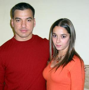 Alfonso Arizpe y Dora Obregón