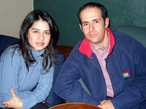 Esther Acuña y Guillermo Figueroa