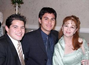 Luis Alberto Maeda Núñez. Jaime Ramírez Maeda y Sonia Maeda Martínez.