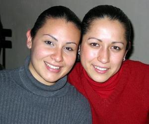 Mónica García y Zaira H. Reyes.