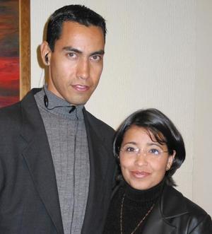 Orlando Pérez y Mireya Estrada.