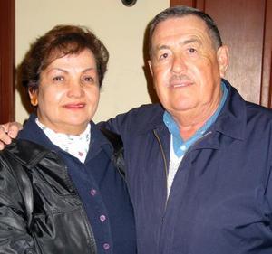 Raquel de Gutiérrez y Antonio Gutiérrez.
