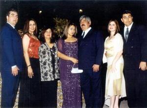 <u>18 de enero</u><p> Raúl Calderón, Arely Lira de Calderón, Irene Pérez de Lira, Ivette Denisse, Lira Pérez Dario Lira Rizo, Janeth García de Lira y León Darío