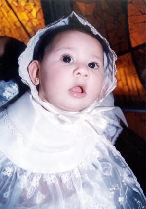 <u> 18 de enero </u> <p> Sharon Pamela Venegas López el día que recibió el Sacramento del bautismo, es hija de Elizomosfet Venegas del Río y Karla López Venegas.
