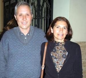 Francisco Aguilar y Lilia de Aguilar.