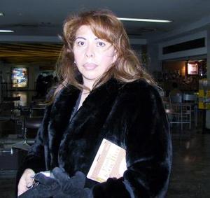 <u> 22  de noviembre </u> <p>  Julieta Márquez retornó de la  capital del país, luego de tratar asuntos personales.