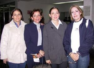 <u> 23  de enero</u> <p> Retornó a la Ciudad de México, María Eugenia G. de Fernández, la despidieron Patricia, Mónica y Sabrina Gutiérrez.