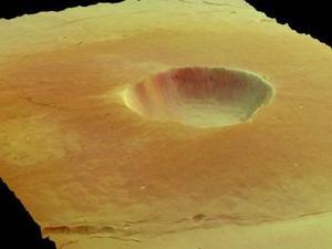 La Agencia Espacial Europea (ESA) mostró en el centro de coordinación del sur de Alemania las primeras imágenes de Marte captadas por el satélite europeo Mars Express, una profusión de formas y color en tres dimensiones que muestran la existencia de una gran cantidad de agua en el Planeta Rojo.