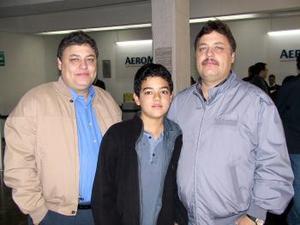 Felix Javier Mejía, Luis Ángel Mejía y Luis Gerardo Mejía Guerrero se trasladaron a Xalapa Veracruz en plan de trabajo.